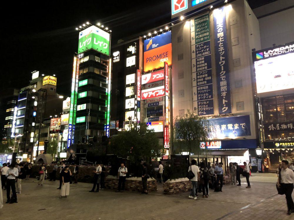 新橋駅SL広場ナンパ